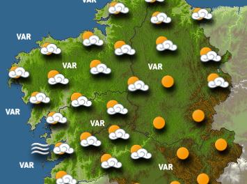 Galicia sigue al margen de la ola de calor que sacude España y Europa