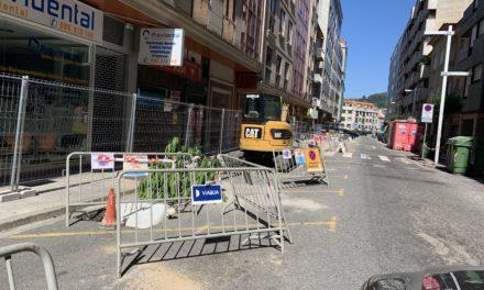 Obras en Pontevedra: se cortan al tráfico las calles Echegaray y Rouco