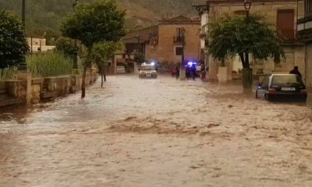 Inundaciones en diversas poblaciones de Ourense debido a las tormentas de ayer tarde