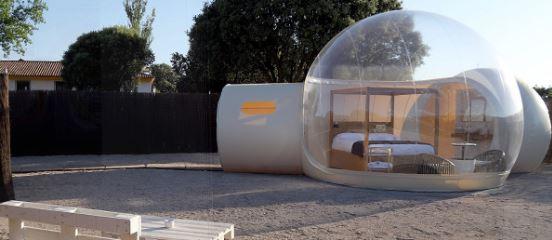 hotel de burbujas las beatas, recomendado