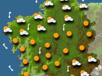 Hoy entra el calor: temperaturas en torno a 30º en Rias Baixas