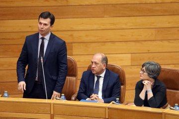 Gonzalo Caballero entra en el Parlamento Gallego para preparar su asalto a la Xunta