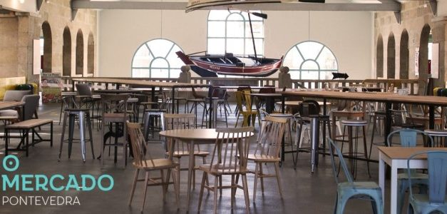 Abrió «O Mercado», el espacio gastronómico situado en la primera planta de la Plaza de Abastos