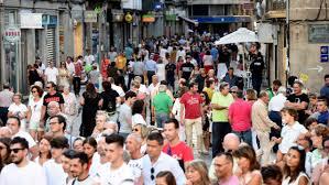 Pontevedra fue tendencia con la Semana Grande de las Fiestas