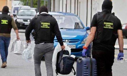 Redada contra narcotraficantes en Cambados, Vilanova y Vilagarcía de Arousa