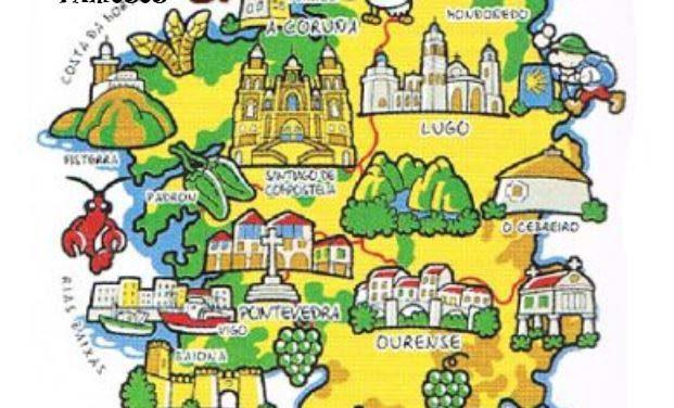 Galicia a ras de chan- de viaxe por Galicia con Touriñan