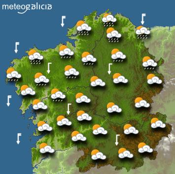 Los restos del huracán «Dorian» alcanzan España en forma de «gota fría». Galicia esquiva las consecuencias