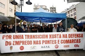 Movilización de transportistas y concellos lucenses y coruñeses por la reactivación de Endesa