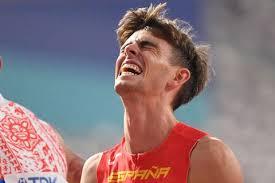 El atleta gallego Adrián Ben quedó sexto en la final de los 800 metros del Mundial