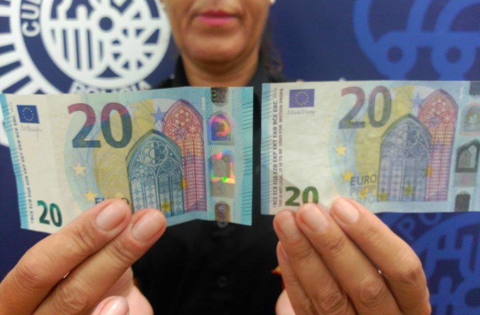 Alerta policial por la circulación de billetes falsos de 10 y 20 euros por Galicia