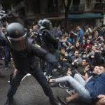 Segunda noche de revueltas e incidentes en Barcelona