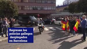 Ligera mejoría del agente vigués antidisturbios gravísimamente herido en Barcelona