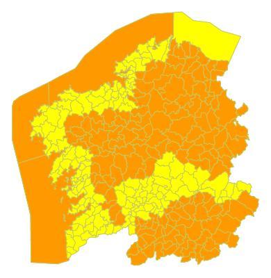 Un martes de tiempo muy complicado en toda Galicia