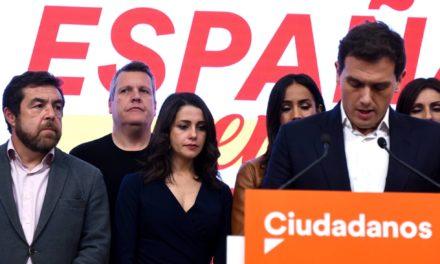 Primera víctima política del 10N: Albert Rivera dimite y deja la política