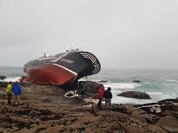 Naufragio de un pesquero de Portosín con un marinero fallecido
