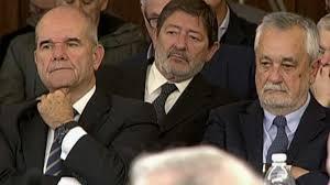 Chaparrón para el PSOE: la sentencia de los ERE condena a a dos ex presidentes de la Junta de Andalucia y a otros antiguos altos cargos