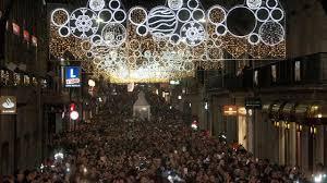 Abel Caballero eleva el impacto turístico del alumbrado y atracciones de la Navidad en Vigo