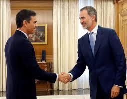 El Rey Felipe VI culminará hoy la ronda de contactos que cerrará con Pedro Sánchez