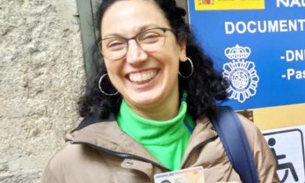 Marisa hija de emigrantes gallegos, de Cerponzons, a Argentina, viene a visitar la tierra de la que le hablo su abuela