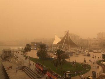 Vuelos cancelados desde aeropuertos gallegos a Canarias por la tormenta de calima y polvo del desierto