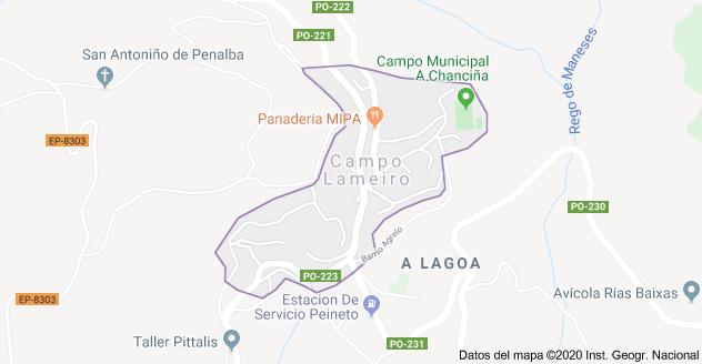 Un muerto y un herido en accidente laboral en Campo Lameiro