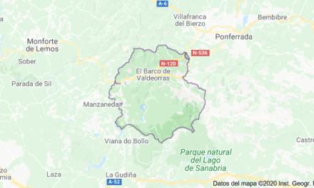 Tremendo accidente de tráfico en Valdeorras con una mujer fallecida