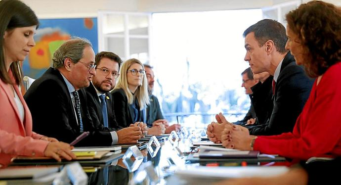 La Mesa de Gobierno Central y Generalitat se reunirá mensualmente