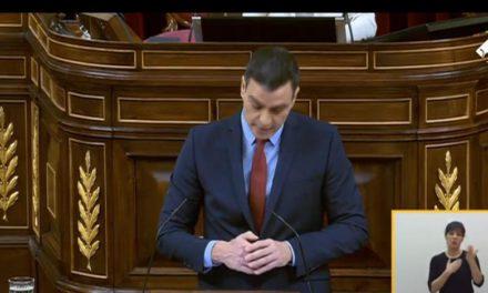 Sigue el pleno del Congreso de Diputados que va a renovar la prórroga del estado de alarma