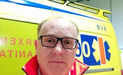 Roberto, ténico y representante de 061 ambulancias vigo y Baixomiño, nos habla de la situación del COVID-19, en Pontevdra