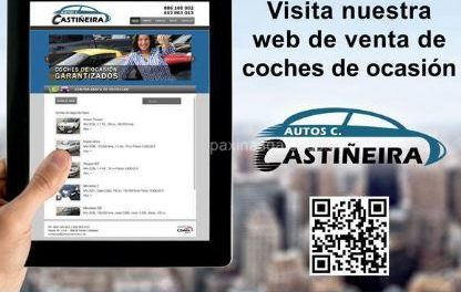 Carlos gerente autos Castiñeira, alquiler de veiculo industrial y turismos