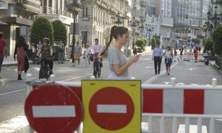 Abel peatonaliza más calles en Vigo para facilitar la movilidad