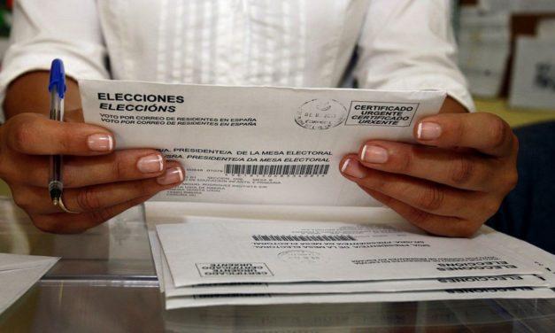 Voto por correo seguro para las elecciones gallegas del 12 de julio