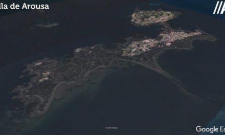 A Illa de Arousa puede estar prácticamente sumergida en 80 años