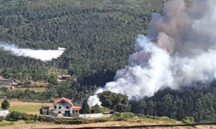 Hasta 7 incendios forestales, todos ellos provocados, en el concello de Cerdedo-Cotobade