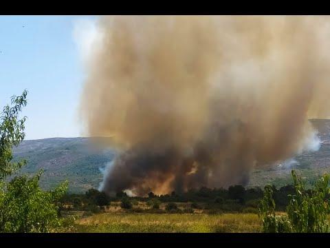 El incendio de Cualedro va perdiendo fuelle y aparece otro bastante voraz en Rodeiro