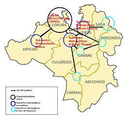 Restricciones en el área metropolitana de A Coruña por el incremento de casos de covid