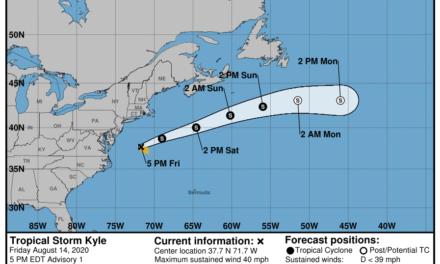 «Kyle»: de ciclón a borrasca que nos llegará esta semana