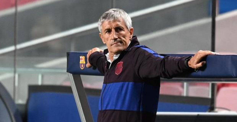 El Barça echa a Quique Setien