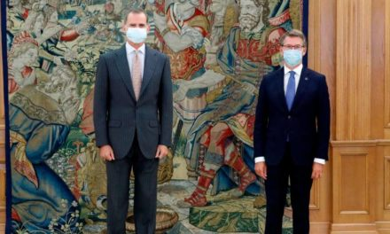 Feijóo pidió ayuda al Rey para prolongar el Xacobeo hasta 2022 y ofreció Galicia para acoger a Juan Carlos de Borbón