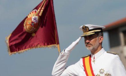 El Rey Felipe VI visita la Comandancia Naval de Tui