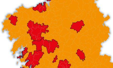 A medianoche comienza el endurecimiento de las restricciones que afectan a más de media Galicia