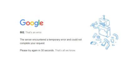 Caída de Google que afectó a Gmail, Youtube y otros servicios del operador