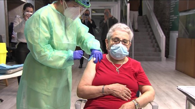 9.500 vacunados en Galicia en una semana