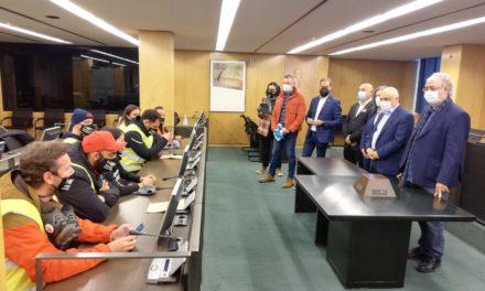 «Equipo Rescate Hostelería» reaparece hoy marchando hacia Santiago