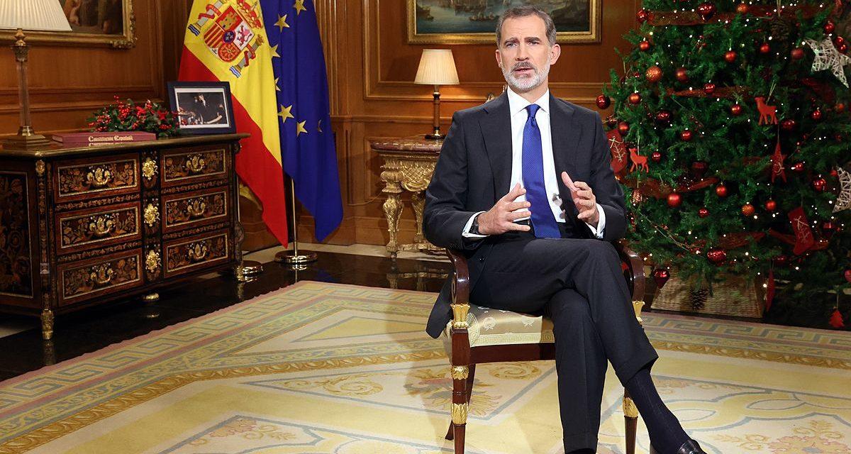 A más del 80% de los españoles les pareció oportuno el discurso del Rey