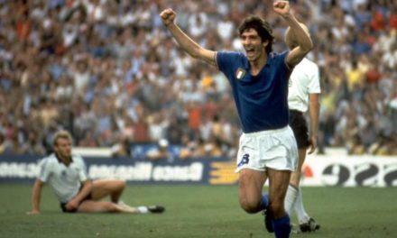 Murió Paolo Rossi, el delantero italiano al que Pontevedra no olvida