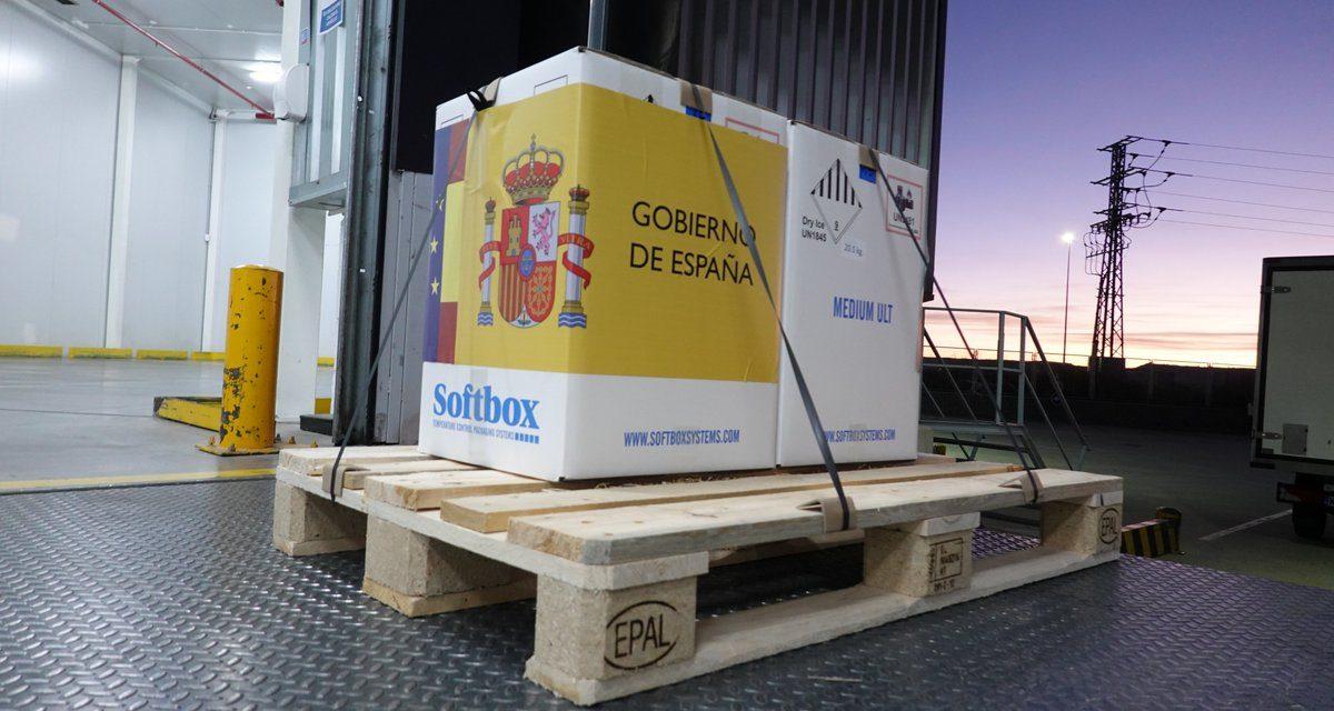 Las vacunas para Galicia llegaron a través del aeropuerto… de Oporto
