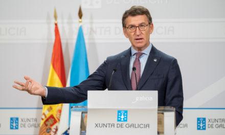 Feijóo reitera que la desescalada en Galicia será prudente y lenta