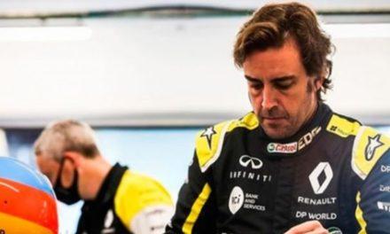 El piloto de F-1 Fernando Alonso, atropellado por un coche en Suiza