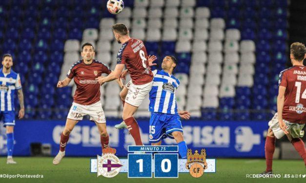 El Deportivo ganó y dejó al Pontevedra muy tocado